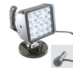 "Handheld Led Light -2880 Lumens - 200Lb Grip Magnetic Base - 16"" Cord With Cigarette Plug(-24 Volts"