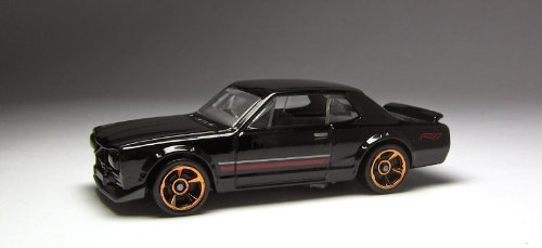 2014 Hot Wheels HW Workshop Black Nissan Skyline H/T 2000GT-X - 1