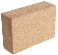 YogaAccessories (TM) 3' Cork Yoga Block