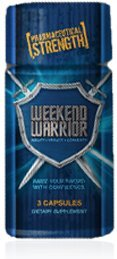 Weekend Warrior Male Enhancement Pill 3 Count Bottle Promotion Special Amazing Strength, Stamina and Energy