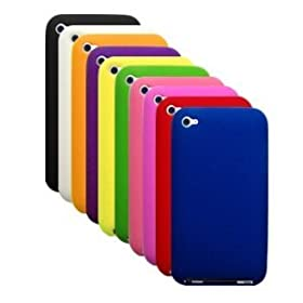 Silicone Durian Vein Skins / Cases / Covers for Apple iPhone 4 / 4G AT&T, Verizon - Black, White, Pink, Orange, Purple, Green, Blue, Green, Blue, Red