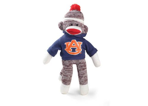 Auburn Sock Monkey - Beanie at 'Sock Monkeys'