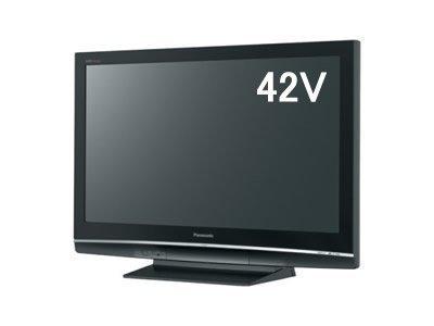 Panasonic VIERA 42V型地上・BS・110度CSデジタルフルハイビジョンプラズマテレビ TH-42PZ80-K ブラック