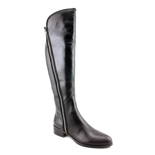 Donald J Pliner Nova Womens Size 5.5 Black Leather Fashion Knee-High Boots