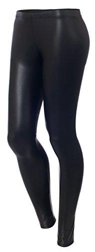 URBAN K Women's Vegan Leather Leggings