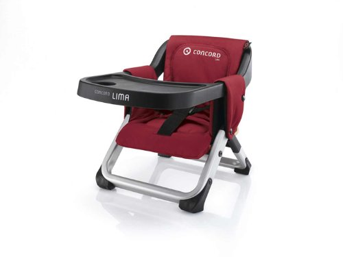 Concord Lima Pepper Highchair (Red)