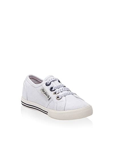 Pepe Jeans Sneaker Baker Plain Kids weiß