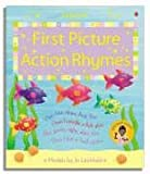 Felicity Brooks First Picture Action Rhymes (Usborne First Picture Books)