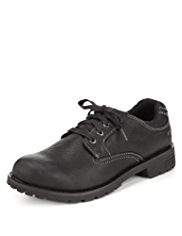 Blue Harbour Leather Gibson Shoes with Stormwear™