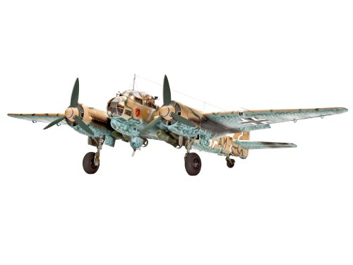 Revell-03988-Modellbausatz-Junkers-Ju88-A-4-with-bombs-Mastab-132