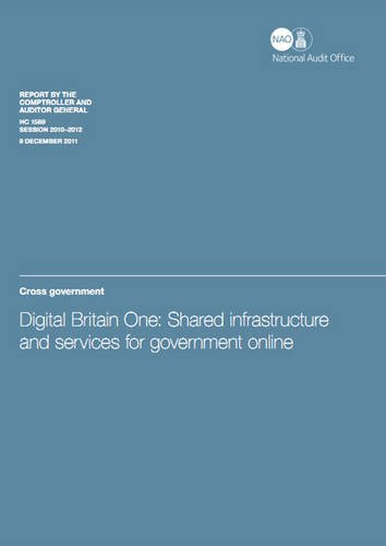 Digital Britain One: Shared Information and Services for Government Online, Cross Government
