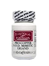 Pro-Copper 4 mg 60 Capsules by Ecological Formulas