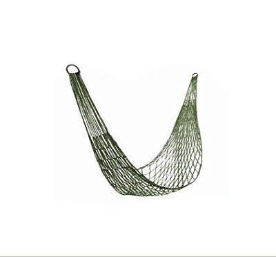 niceeshop(TM) Nylon Mesh Net Single Leisure Hammock Hanging Bed For Camping Hiking Backpacking Travel