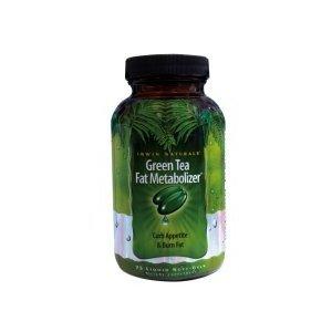 Irwin Naturals Green Tea Fat Metabolizer Softgels 75's