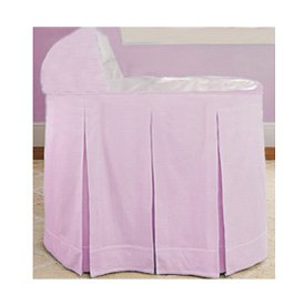 Ric Rac Bassinet Set - Color Pink