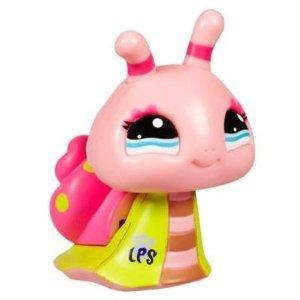 Littlest Pet Shop Walkables Figure #2125 Snail