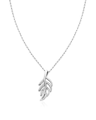 Lily and Lotty Collar Willow Leaf 0.01 ct Diamond