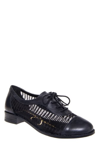 Jessica Simpson Tallinoh Sheer Flat Lace Up Shoe