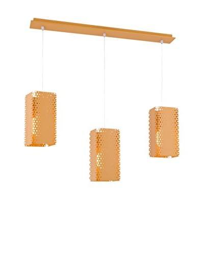 Light&Design Lámpara De Suspensión Aras Naranja