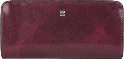 """Bosca Old Leather Collection 7"""" Clutch Black"""
