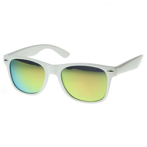 Hipster Fashion Mirror Wayfarers Sunglasses