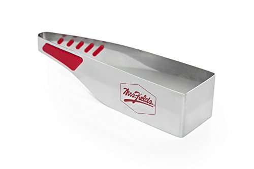 Mrs. Fields Bakeware Slice N Easy Stainless Steel Square Cake Cutter, Silver