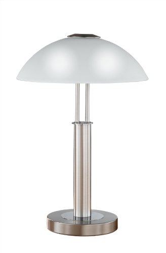Prescot Table Lamp in Five Finishes Finish: Nickel