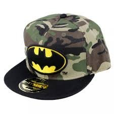 Military Batman Hip Hop Cap