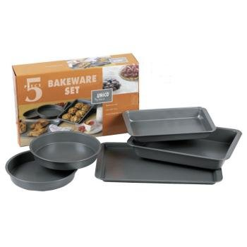 5 Piece Bakeware Set (6 Pieces)