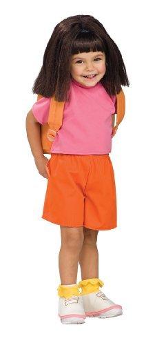Child'S Wig Dora The Explorer front-681631