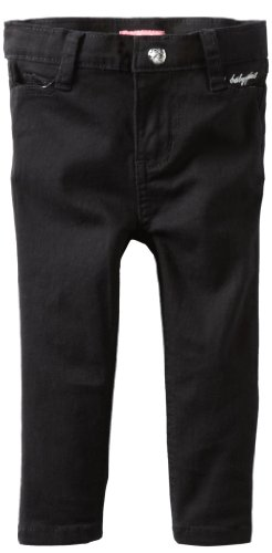 Baby Phat - Kids Baby-Girls Infant Colored Twill Jean, Black, 12 front-782340