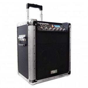 Pyle-Pro Pcmx260Mb Battery Powered Portable Pa System W/Usb/Sd/Mp3 Inputs