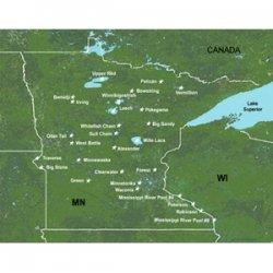 Garmin MapSource LakeMaster Minnesota Freshwater Map microSD Card