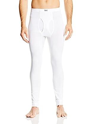 Abanderado Pantalón Interior Calzón Largo Termaltech (Blanco)