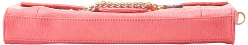 Jessica Simpson Fearless Convertable Clutch,Coral,One Size