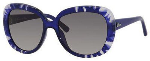 Christian Dior  Christian Dior Tiedye 1/S Sunglasses Flower Blue / Gray Gradient