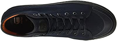 G-Star Bayton High Denim, Men's Low-Top Sneakers