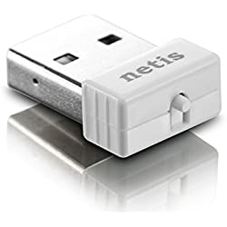 NETIS WF2120 150Mbps Wireless N NANO USB Adapter Compatible with Windows MAC Linux OS for Free