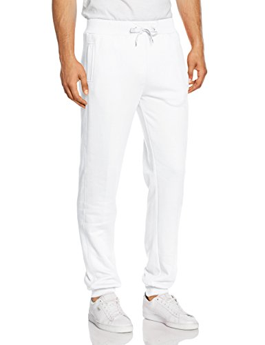 Urban Classics Straight Fit Sweatpants, Mutande Uomo, Weiß (White 220), W50