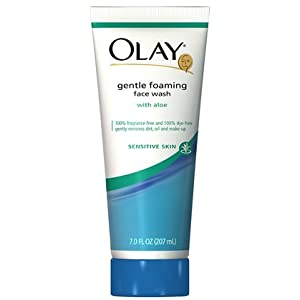 Olay Sensitive Skin Gentle Foaming Face Wash With Aloe 7 oz.