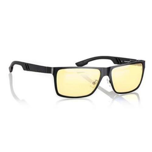 Why Choose Gunnar Optiks VIN-00101 Vinyl Full Rim Ergonomic Advanced Computer Glasses with Amber Len...