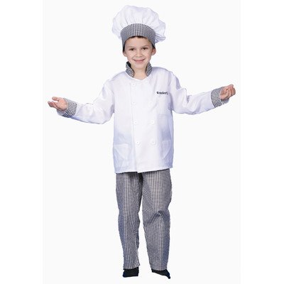 Deluxe Chef - Boy Dress Up Costume Set