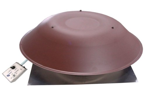 Lomanco 2000 BROWN Power Roof Ventilator