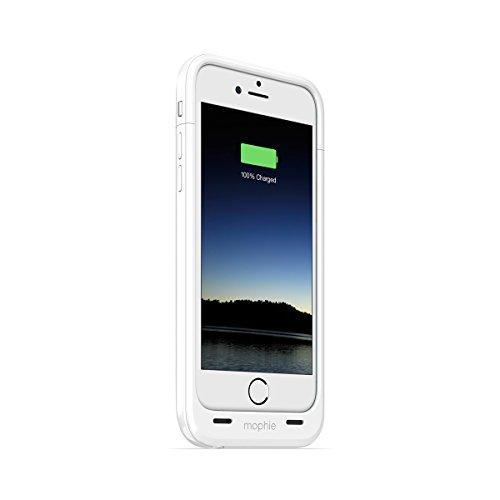 日本正規代理店品・保証付mophie juice pack plus for iPhone 6 (4.7インチ) ホワイト MOP-PH-000072