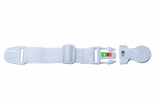 Dreambaby EZ Check Strap Latch, White - 1