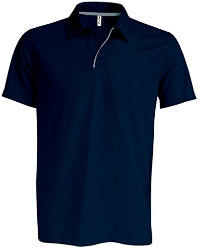 Kariban Proact Men Technical Shorts Polo - 2 Farben / - French Navy/ Silver - S