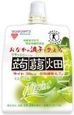 【特価】 クラッシュタイプの蒟蒻畑ライト 150g×12食(マスカット味)