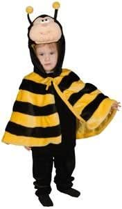 Little Honey Bee Infant Cape Costume Size 12-24mo.