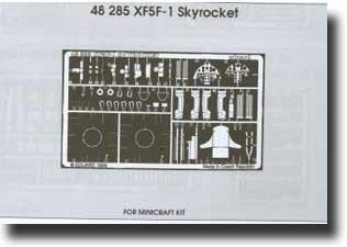 Grumman XF5-1 Skyrocket (pour maquettes Minicraft)