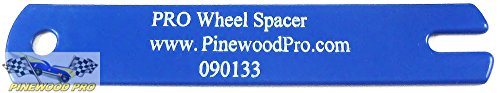 Pinewood Derby Wheel Spacer Gauge